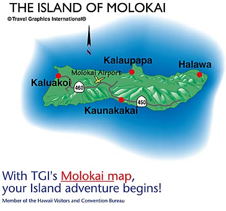 Molokai Hawaii - Hawaii cities map